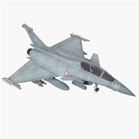 3d Model Dassault Rafale