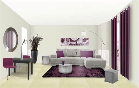 peinture chambre prune et gris rideau gris et prune awesome douceur duinterieur voile