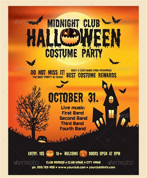 free printable halloween flyer 21 flyer designs and templates design trends premium psd vector downloads