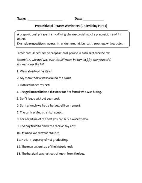 englishlinx prepositions worksheets
