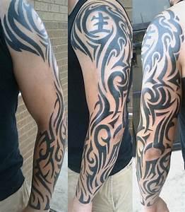 Tatouage Homme Bras Tribal : quel tatouage bras homme est fait pour vous 50 id es en styles vari s tatouages tribal ~ Melissatoandfro.com Idées de Décoration