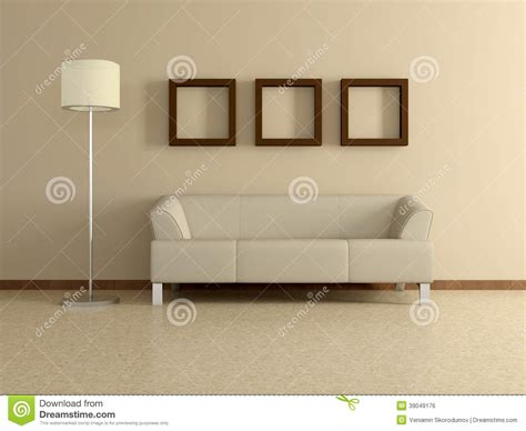 modern home interior with sofa paintings 3d stock illustration image 39049176