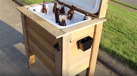 idee de genie deco build an amazing diy rustic cooler project out of pallets