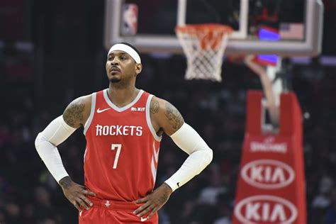 Houston Rockets 2018-2019 player recaps: Carmelo Anthony ...
