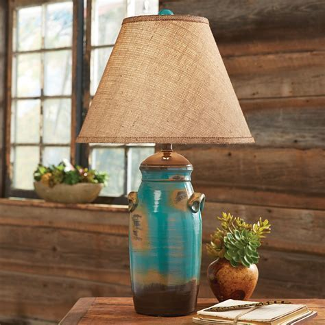 Tarro Turquoise Table Lamp