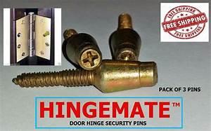 Hingemate 3 Pack Door Hinge Mate Security Pins Screw
