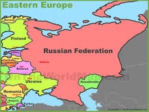 Eastern Europe Map European Countries