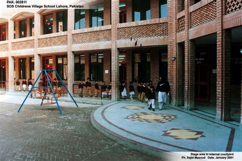 SOS Hermann Gmeiner School Lahore | Stage area in internal ...