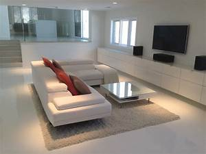white leather sectional decorating ideas With sectional sofa centerpiece