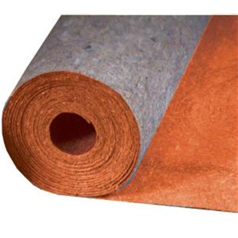 home depot laminate flooring underlayment mp global best 400 in x 36 in x 1 8 in acoustical recycled fiber underlayment with film for