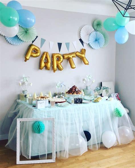 idees decoration baby shower garcon en  decoration
