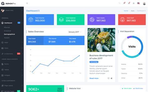 Bootstrap Dashboard Template Adminpro Bootstrap 4 Dashboard Template Bootstrap Admin