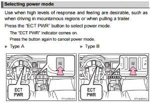 benefits   toyota tacoma ect pwr button