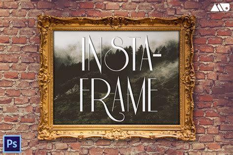 insta frame frame mockup kit product mockups