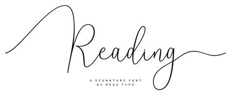 reading font dafontcom