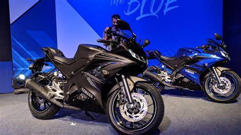 Yamaha R15 V3 by 2019 Yamaha R15 V3 Black Abs Walkaround Review