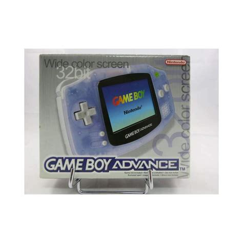 Console Gameboy Advance Clear Purple Euro Occasion