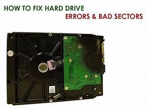 How to fix hard drive errors