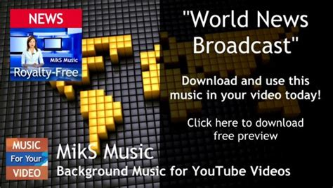 News Broadcast Background Music Royalty Free Download