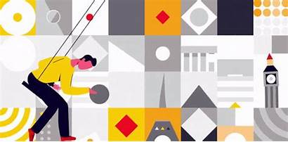 2021 Shapes Graphic Trends Trend Illustration Animation