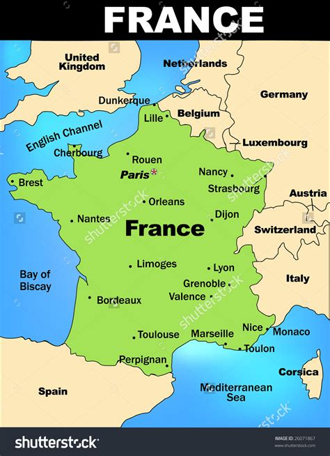 investigation  france map  france