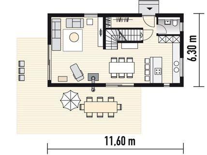 Grundriss Haus Schmales Grundstück by Kompaktes Fertighaus Planmaterial Fertighaus Aus Holz In