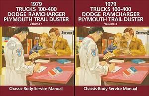 1979 Dodge Pickup Truck Shop Manual D100
