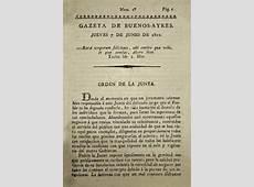 Gazeta de Buenos Ayres Wikipedia, la enciclopedia libre
