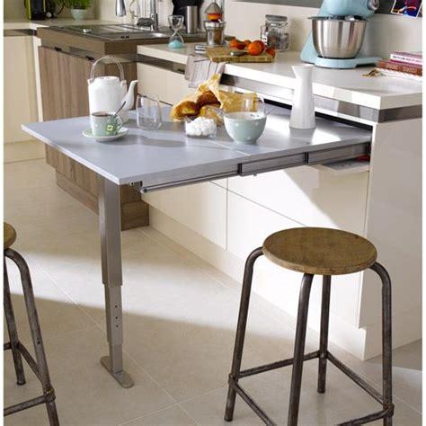 table cuisine retractable table r 233 tractable aluminium delinia 95 x 75 cm 300 leroy