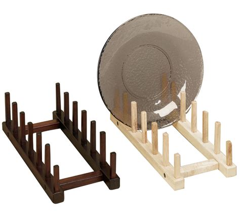 wooden plate racks tripar international