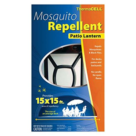 thermacell mosquito repellent patio lantern walmart thermacell mosquito repellent pest outdoor lantern