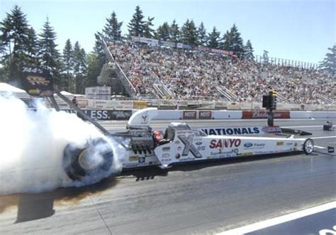 Courtney Force Top Alcohol Dragster
