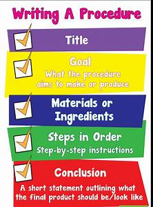 Literacy Chart Of India Procedural Writing Mrs Barling 39 S Class