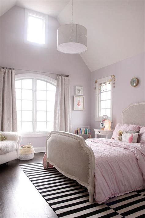 bedroom with pink walls pink bedroom with ikea stockholm rug transitional 14476