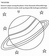 Saturn Coloring Planet Uranus Worksheet Planets Printable Drawing Solar System Clipart Sheets Liquid Gas Solid Getcolorings Getdrawings Moons Labels Library sketch template