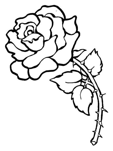 dibujos de rosas  colorear pintar  imprimir