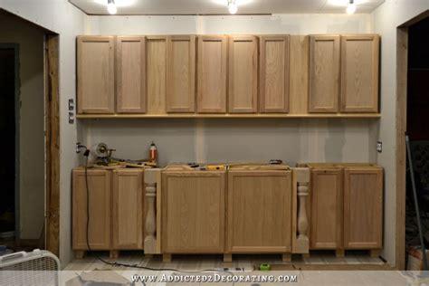 Wall Of Cabinets Installed (plus, How To Install Upper. Modern Galley Kitchen Design Ideas. Ikea Kitchen Wall Organizer. Kitchen Fruit Storage. Organizing My Kitchen Cabinets