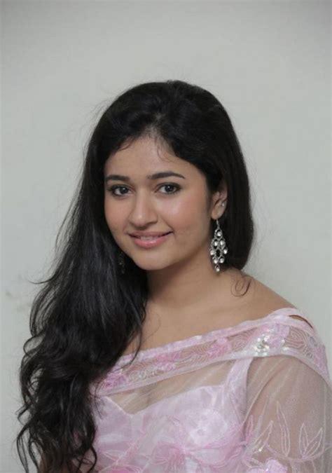 beautiful telugu girl poonam bajwa long hair  pink saree