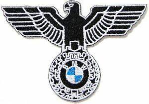BMW Motorcycle Motorrad German Eagle Logo Biker Patch Sew ...