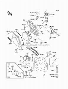 Kawasaki Kef300-a6 Parts List And Diagram