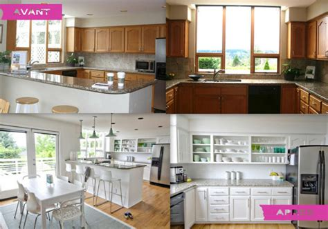 inspiration couleur chambre relooking à petit prix de la cuisine en 6 jours