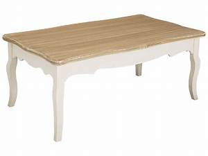 cream wood finish rectangle coffee table ebay With cream and wood coffee table