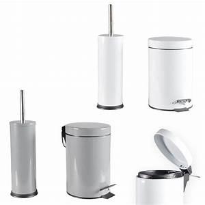 Wc Bürste Set : wc garnitur badezimmer set m lleimer wc b rste treteimer toilettenb rste b rste ebay ~ Whattoseeinmadrid.com Haus und Dekorationen