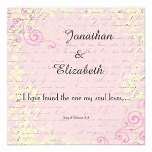 vintage romance with bible verse wedding personalized With wedding invitation wording with bible quotes