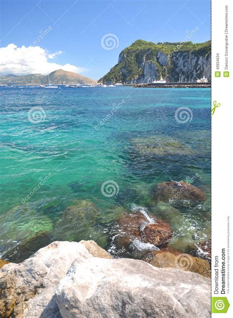 Picturesque Summer Landscape Of Beautiful Beach In Marina