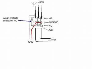 Wiring A Lighting Contactor