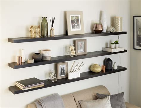 Floating Shelves Bookcase by Solid Oak Floating Shelf 20x195mm Custom Made To Measure
