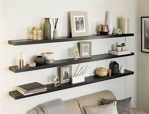 Solid, Oak, Floating, Shelf, 44x145mm, Custom, Made, To, Measure
