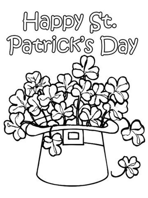 st patricks day printable coloring pages  adults kids everythingetsycom