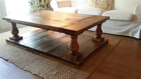 Balustrade Coffee Table Free Shipping